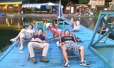 8月15日 野尻湖