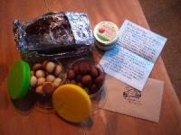 焼き菓子とお手紙