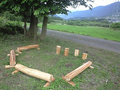 森のたね 富士山田舎暮らし 間伐材活用