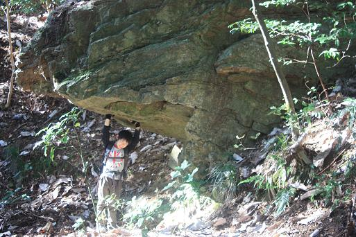 どんびき岩