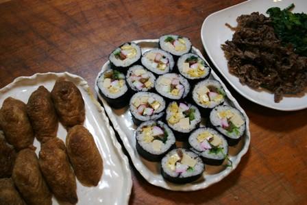 作り過ぎたお寿司