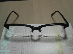 メガネの新しいやつ。