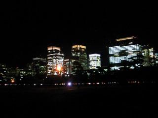 皇居からの夜景