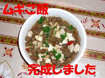 ムギの豚肉・水菜鍋もどき