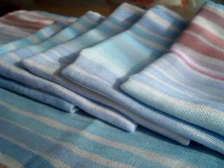 虹色の布巾