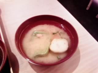 生麩の味噌汁