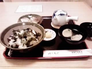 桑名・しぐれ茶漬けセット