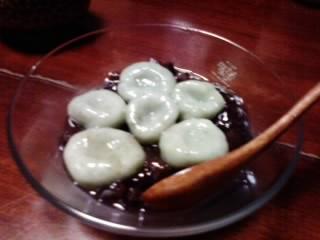 よもぎ白玉だんご2