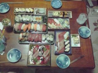 夕食寿司081111_2202~01
