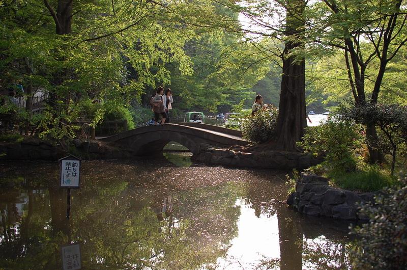 井の頭公園めがね橋