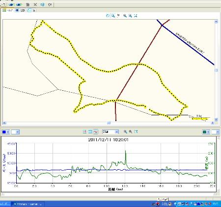小川和紙マラソン 軌跡