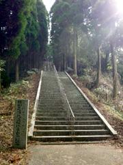 美里町の日本一の石段(3333段)に挑戦!