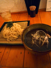 下通りの亜和麺はあっさりした細麺のつけ麺♪