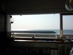 愛媛・四国中央市のカフェ Lamp(ランプ)で海を見ながらティータイム♪