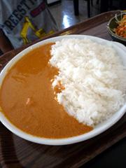 城南町のエベレストキッチンでネパールカレー♪