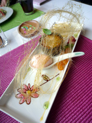 熊本市北部のKusunoki Cafe(楠茶館)で女性必見の春らんち♪