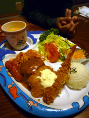 合志市のレストランオリオンで子連れディナー!