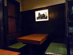 上通りのレストラン山海堂でハンバーグ。