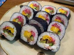 巻き寿司 002