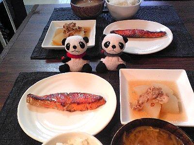 鮭の西京焼きランチ