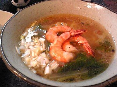 海老セロリー麺