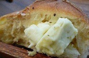 チーズパンの中身