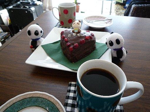 チョコケーキでバレンタイン
