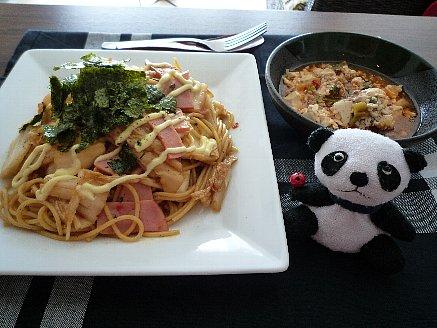 キムチスパゲッティ