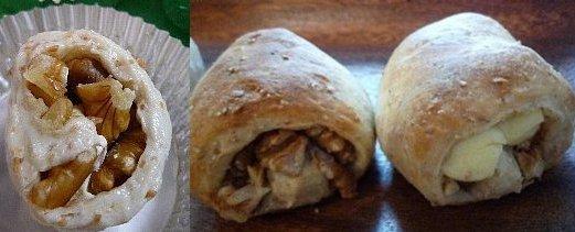 胡桃チーズパン