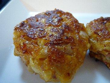 キムチ豆腐バーグ