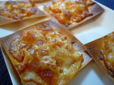キムチーズピザ