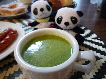 小松菜のポタージュ