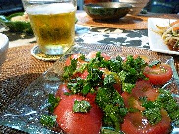 しそトマト