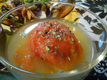 トマトのコンソメ煮