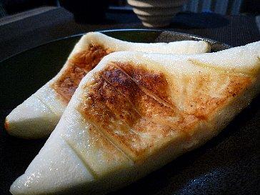 はんぺんのバター焼き
