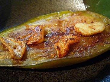 トロ茄子のステーキ