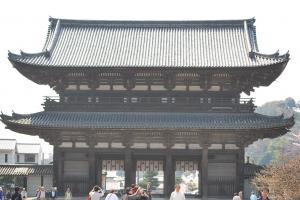 京都・仁和寺仁王門