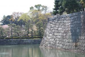 京都・二条城外堀