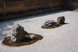 京都・竜安寺石庭