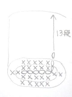ライターカバー・編み図