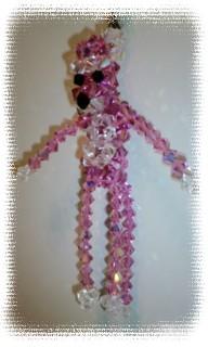 ビーズ ピンクパンサー1
