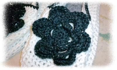 カギ編みルームシューズアップ