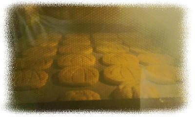 かぼちゃクッキー オーブン