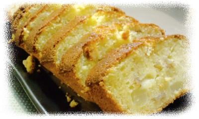 洋ナシとくるみのパウンドケーキ