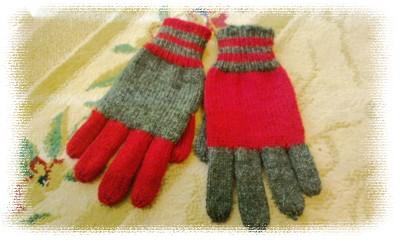 ツートン手袋1