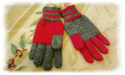 ツートン手袋2