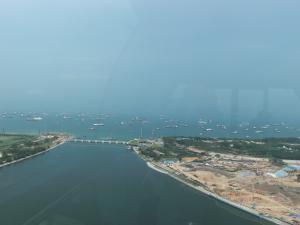 シンガポール・フライヤー眺め1
