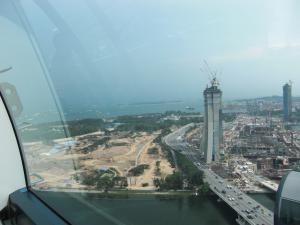 シンガポール・フライヤー眺め2