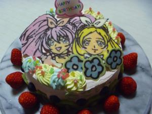 スイートプレリキュアケーキ