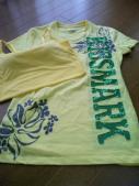 Tシャツもブラトップ黄色